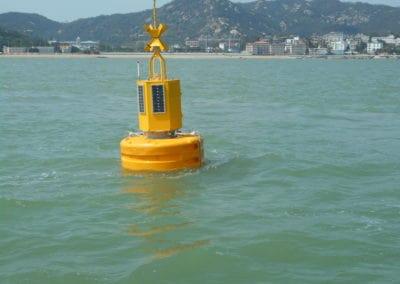 Bouée instrumentée – paramètres de l'eau & mesure du courant