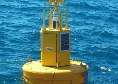 Bouée profileuse : surveillance des paramètres météorologiques