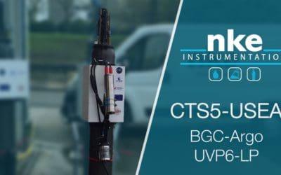 Première livrasion de notre profileur CTS5-USEA