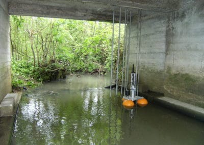 Station de surveillance en eau douce
